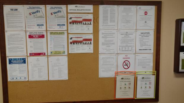 Official DNR Bulletin Board